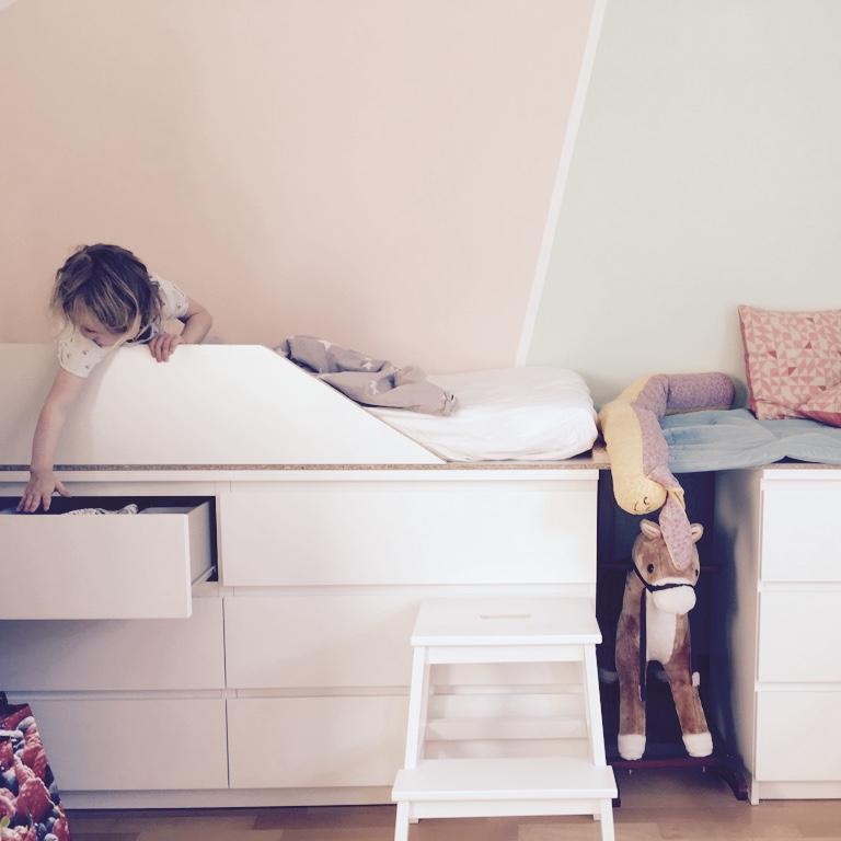 Kleine Kinderzimmer einrichten – Adebars Töchter